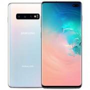 Samsung Galaxy B0 Teléfono desbloqueado de fábrica, S10+, 128 GB, blanco, (prism white) (Renewed)