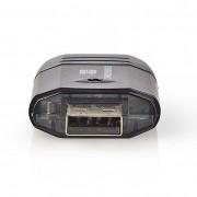Nedis CRDRU2100BK USB 2.0 külsõ kártyaolvasó