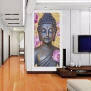 ELECTROPRIME® Modern Canvas Prints Wall Art Landscape Picture Bedroom Wall Deco Buddha A-S