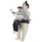 Disfraz hombre en brazos de Sumo adulto Morphsuits Única