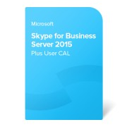 Skype for Business Server 2015 Plus User CAL elektronikus tanúsítvány