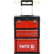 Yato Gurulós kocsi fiókbetéttel (YT-09104)