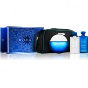 Bvlgari AQVA Pour Homme Atlantiqve set cadou I. Apa de Toaleta 100 ml + Gel de dus 75 ml + After Shave Balsam 75 ml + geanta cosmetice