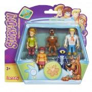 Set 5 Figurine 7 Cm Personaje (velma, Scooby Doo, Shaggy, Fred, Skeleton Man)