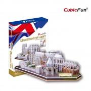 Cubicfun Westminster Abbey Londra Anglia Puzzle 3D 145 de piese