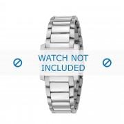 Giorgio Armani bracelet de montre AR-5696 Métal Argent 16mm