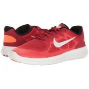 Nike Free RN 2 (Big Kid) Gym RedOff-WhiteTrack Red