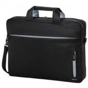 Чанта за Notebook Marseille Style, до 34 cm (13.3 инча), черен/сив, HAMA-101280