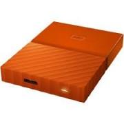 HDD External 1TB Western Digital, WDBYNN0010BOR-WESN, USB 3.0, 2.5″, narandzasti