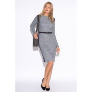 Tremees Grey Boucle Dress