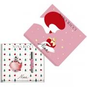 Nina Ricci Nina Комплект (EDT 50ml + Jumbo Lipstick Matte) за Жени