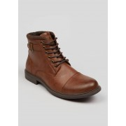 Matalan Mens Military Boots in Size 11, Tan