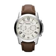 Fossil Men's Leather Watch Model - FS4735 (Brown)