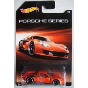 HOT WHEELS PORSCHE SERIES ORANGE PORSCHE CARRERA GT 7/8