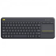 Клавиатура Logitech Wireless Touch Keyboard K400 Plus Black 920-007161