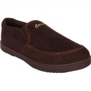 Bersache men brown 1136 casual sneaker loafer sports boots shoes