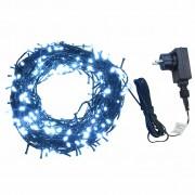 Sonata Светещ стринг 400 LED закрито или открито IP44 40 м студено бял