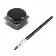 ER Negro Pro Maquillaje Eye Liner Shadow Gel Eyeliner Cosméticos + Cepillo.