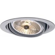 Spot halogen sygonix Downlight Bari, 1 x 100 W, gri