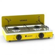 Fogão Portátil Flamalar Vetrô Amarelo - Venax Eletrodomésticos