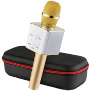 Grind sapphire Wireless Karaoke Condenser Mic/Microphone with portable Bluetooth Speaker