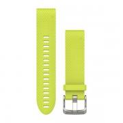 Garmin řemínek pro fenix5s - quickfit20 - žlutý