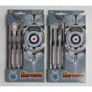 Harrows Silver Arrows műanyag hegyes darts készlet SOFTIP