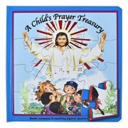 A Child's Prayer Treasury (Puzzle Book): St. Joseph Puzzle Book: Book Contains 5 Exciting Jigsaw Puzzles, Hardcover/Lawrence G. Lovasik