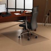 Tappeti protettivi in policarbonato Floortex FC1113423ER - 152075 Tappeti protettivi policarbonato -tappeti,moquette-trasparente- 120x134x0,23cm -