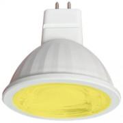 Лампа светодиодная Ecola GU5.3 MR16 color 9W Желтый M2CY90ELT
