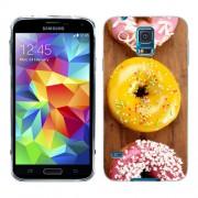 Husa Samsung Galaxy S5 Mini G800F Silicon Gel Tpu Model Donuts Colorate V2