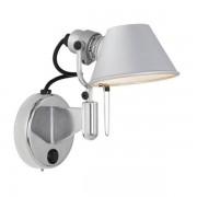 Artemide Tolomeo Micro Faretto Vägglampa LED utan strömbrytare