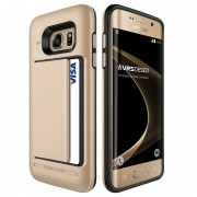 Samsung Galaxy S7 Edge VRS Design Damda Clip Series Case - Shine Gold