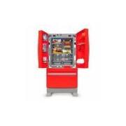 Geladeira Refrigerador Infantil Side By Side Casinha Flor Xalingo