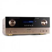 Auna AMP-7100Amplificador HIFI home cinema. 7.1 2000W. (AV1-AMP-7.1-BR)