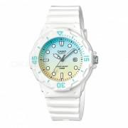 Reloj deportivo para hombre Casio LRW-200H-2E2V-Blanco + Azul