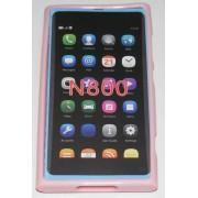 Силиконов гръб ТПУ за Nokia Lumia 800 Розов