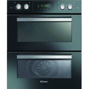 Candy FC7D415NX Double Built Under Electric Oven - Black