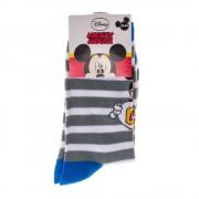 Mickey Mouse kék szürkével gyerek zokni