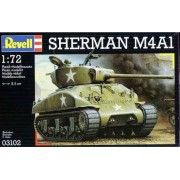 Maquette Char : M4a1 Sherman-Revell