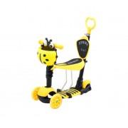 Trotinet za decu Bubamara (Model 652 žuti)
