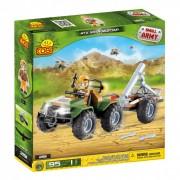 SET DE CONSTRUIT ATV CU MORTIER - COBI (EP3X2191)