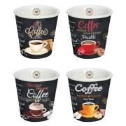 R2S set od 4 porculanske šalice za kavu
