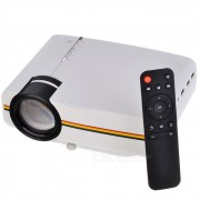 """""""YG400 AC 100 ~ 240V 50W 100"""""""" Proyector de HD LED con el remoter - blanco + negro"""""""