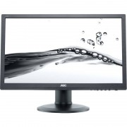 Monitor LED AOC e2460Phu 24 inch 2ms Black