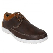Yellow Tree Good Quality Casual Designer Funky Look Brown Shoes For Mens Boys ( R002 )