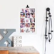YourSurprise 'Papa en ik' foto collage poster - 50 x 75 cm