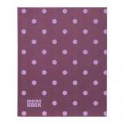 CreativeHobby Notes Memo Book 19,5x23,8 cm - Romantyczne Kropki (elastyczna oprawa) - 02