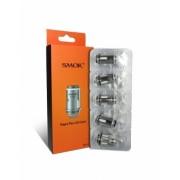 Set 5 rezistente Smok Vape Pen 22 Dual Core 0.3 ohm, Bumbac organic, 25-45 W