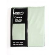 Emporio Queen Fitted Sheet - Latte QUEEN